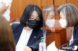 與, 의총서 '부동산 투기 의혹' 윤미향·양이원영 제명