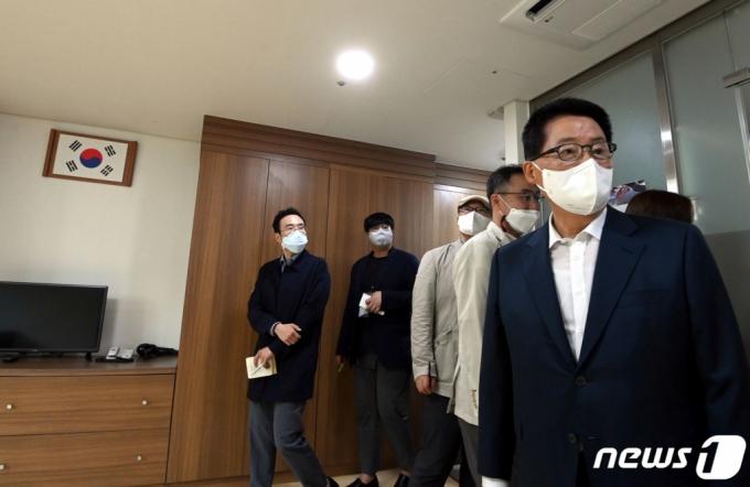 박지원, '국보법 폐지' 반대…