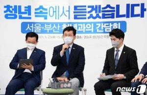 """'박성민 논란'에 송영길 """"얘기 잘 듣고 있다""""...관망 전략 유지하나"""
