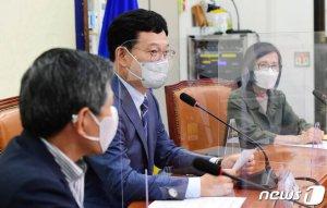 """이재명계 '승'…與 지도부, '만장일치' """"대선 경선 규정대로"""""""