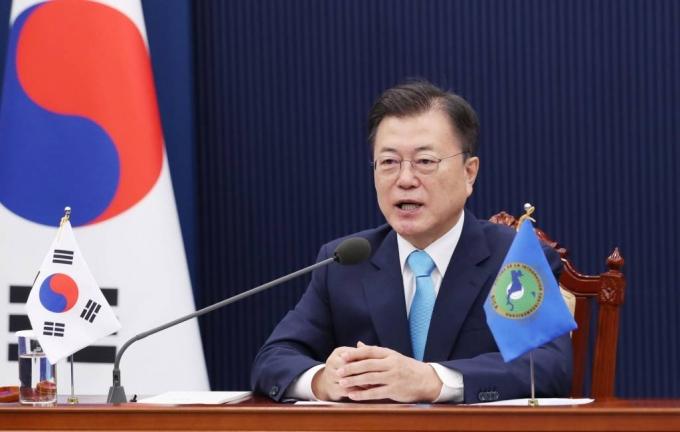 """文 """"한국인은 '아시아의 라티노'""""…중미통합체제와 협력"""