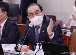 """태영호, 정상회담설 등 남북 '훈풍'에 """"'저팔계 외교'에 넘어가나"""""""