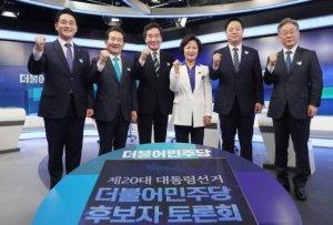 與 원팀다짐 후 첫 TV토론…또 '명낙대전'