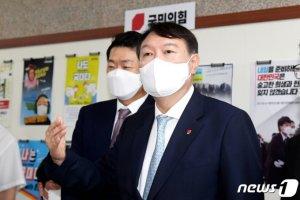 윤석열, 국민의힘 스킨십 늘리기…당협위원장도 만난다