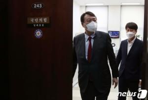 윤석열 두고 사생결단 '충돌'…국회 번진 고발사주 의혹 '전면전'