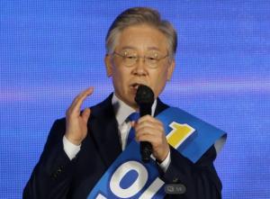 '파죽지세' 이재명…강원서도 과반 득표, 與 경선 '4연승' 질주