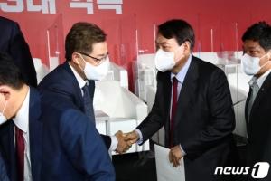 윤석열-최재형, '국정원 개입 의혹' 공동 대응…홍준표는 '선긋기'