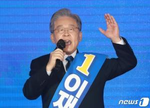 '파죽지세' 이재명
