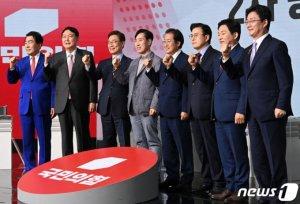 윤석열·홍준표 '핵무장' 공방… 또 나온 '부정선거' 설전