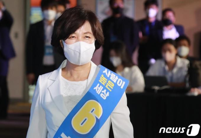 """추미애 """"득표수 아쉬워…1위·2위 후보들 네거티브 영향"""""""