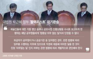 '적폐 청산' 만능키가 면죄부 제조기로…'직권남용죄'의 변신