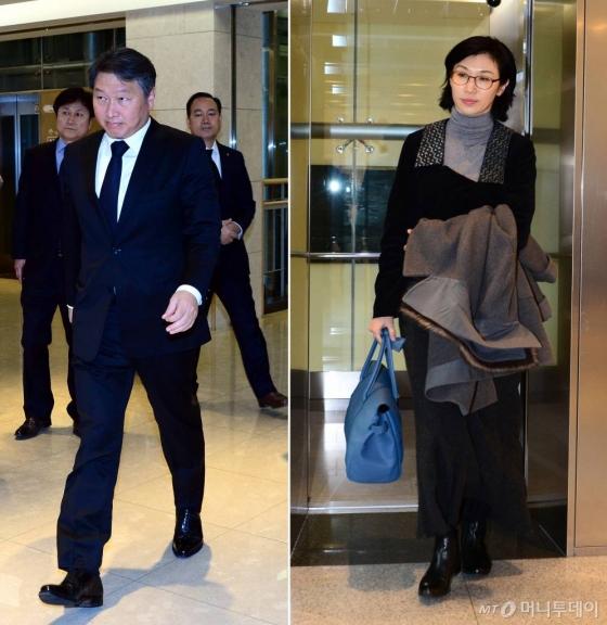 최태원-노소영, 1조원대 이혼소송 막 오른다…수수료만 수십억