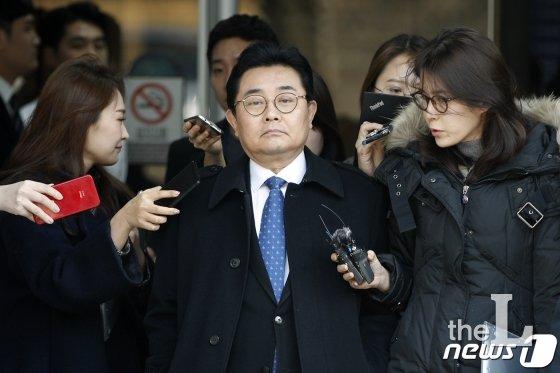 """'홈쇼핑 뇌물 혐의' 전병헌 &quot검찰 공정과 거리 멀어"""""""