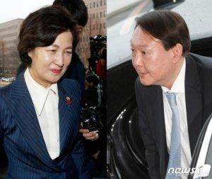 """'지휘 수용' 표명한 윤석열…추미애 """"국민 바람에 부합""""(상보)"""
