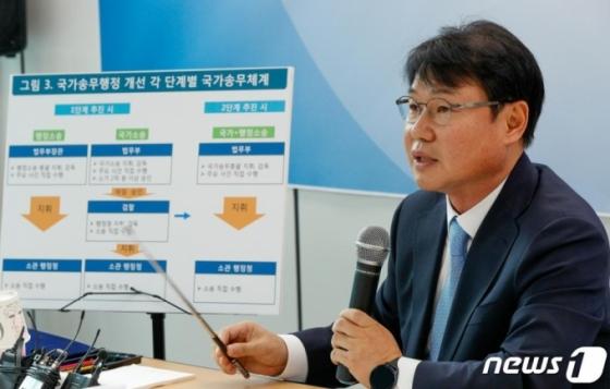 검찰에 위임했던 국가 소송 지휘권, 법무부로 일원화