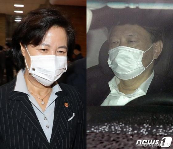 윤석열, '감찰 대면조사' 전운 속에 공판 검사들 만나