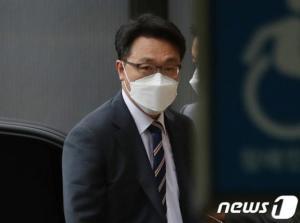 """김진욱 공수처장 """"윤석열 수사 착수 아직 안했다…선거 영향 없도록 할것"""""""