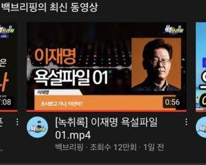 차단된 '이재명 욕설영상', '법원 명령'없다?…'유튜브 게이트'되나