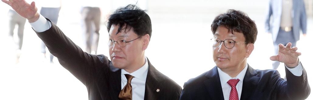 """권성동 복당 결정에 """"눈물이 나려고 한다"""""""
