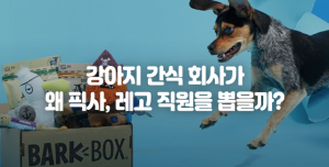 강아지 용품 회사의 고객은 강아지일까? 사람일까?