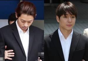 '집단 성폭행' 정준영·최종훈, 2심 징역 7년·5년 구형