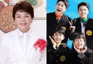 임영웅·영탁·이찬원·장민호 김치맛은? 김수미, '뽕숭아' 특별출연