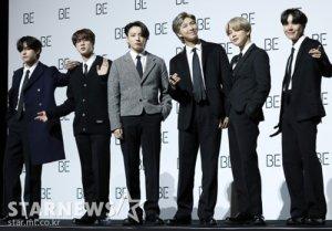 방탄소년단, 그래미 노미네이트 성공..베스트 팝 그룹 후보