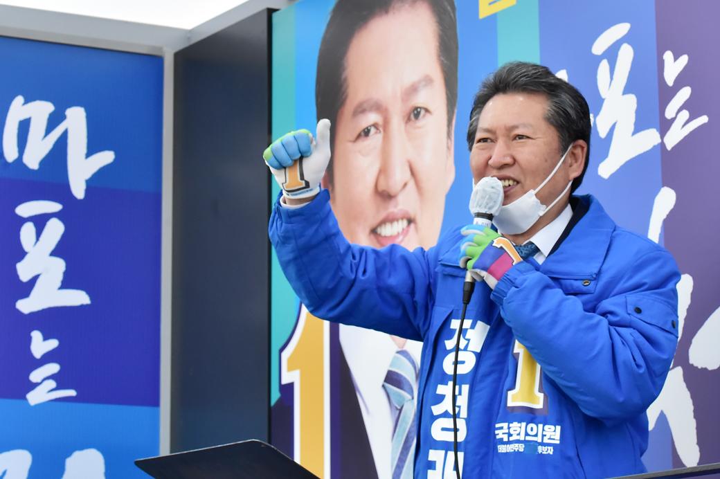 돌아온 저격수 '정청래' 민심잡기 총력