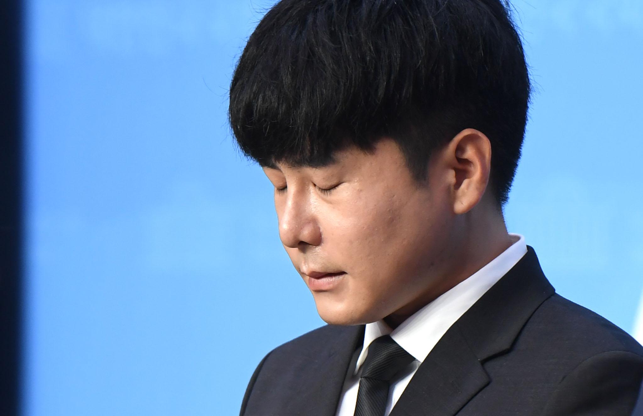 '구하라법' 통과 촉구하는 친오빠 구인호 씨