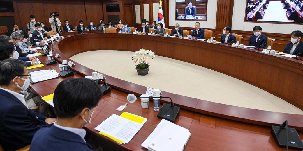 금융부터·IT 신산업까지, 정부 제2차 '혁신성장전력회의'
