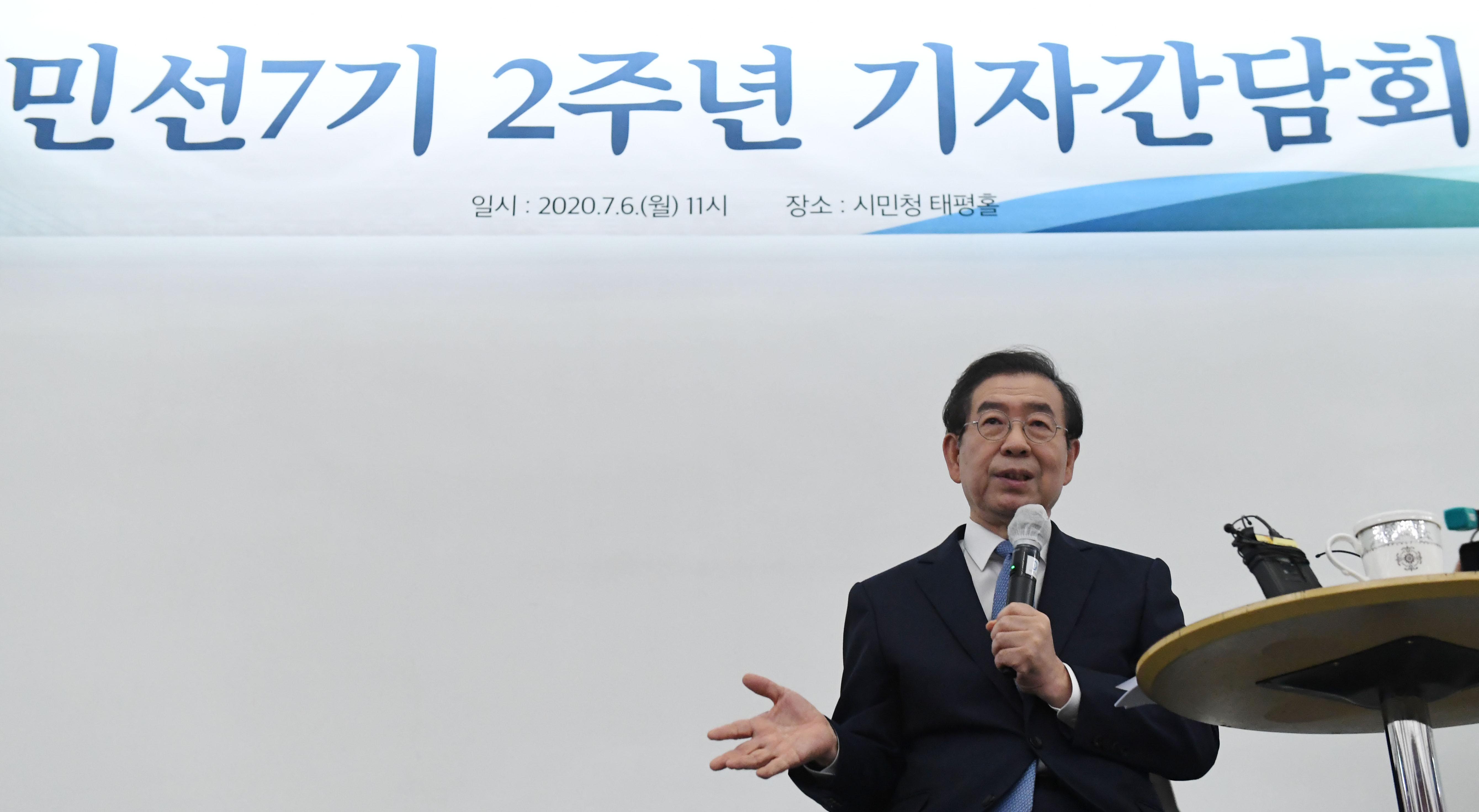 """박원순 """"공공임대주택을 확대해야"""""""
