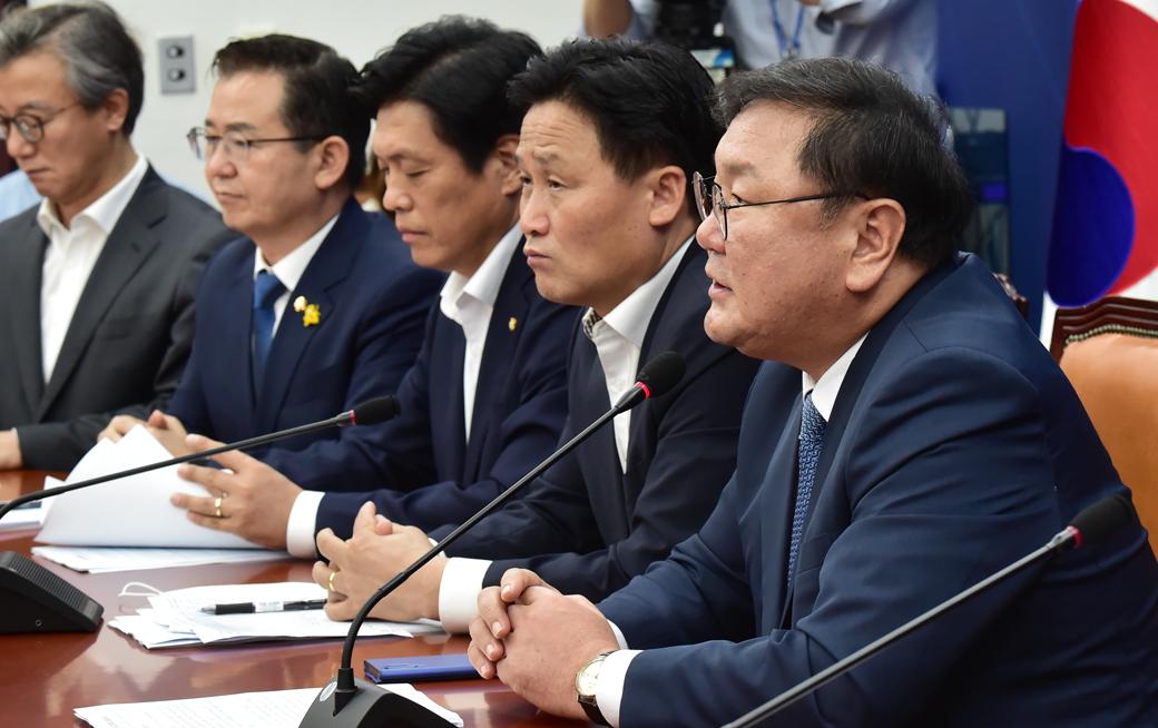 """민주당 김태년, """"다주택자와 법인에 대한 종부세율 강화할 것"""""""