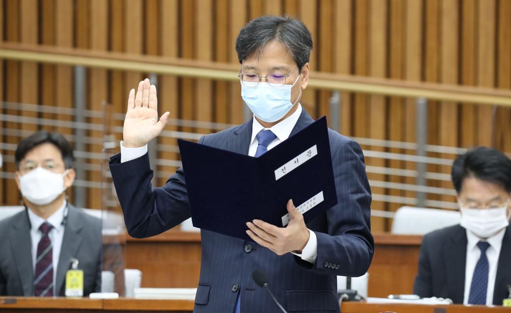 중립성 논란 '조성대' 선관위원 후보자 인사청문회