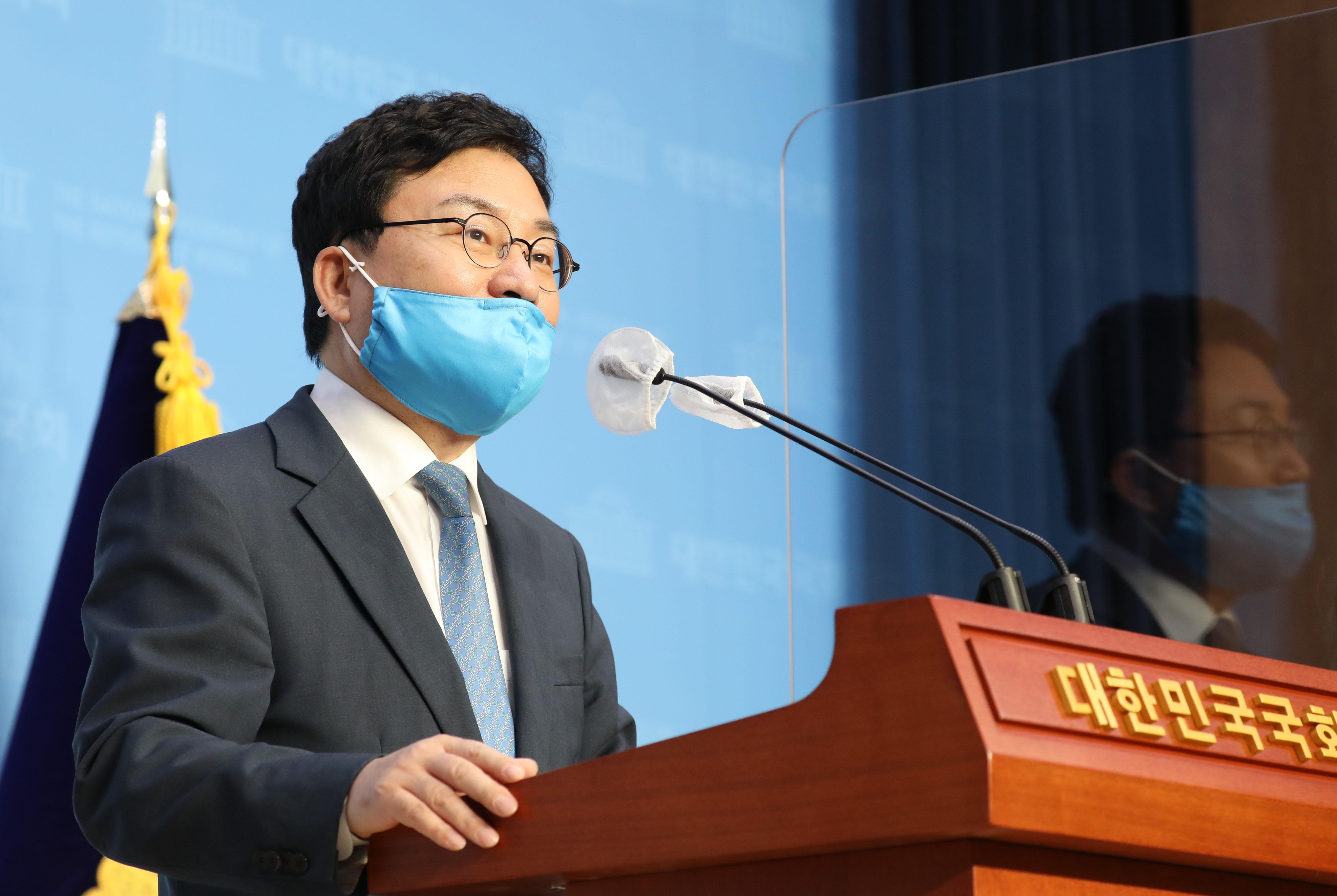 """'민주당 탈당' 이상직 """"이스타항공 의혹 소명 뒤 되돌아오겠다"""""""