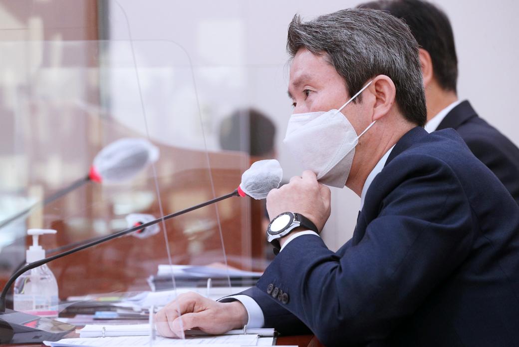 """통일부 이인영 """"美 대선, 결과 어떤 경우든 대비 대응할 것"""""""