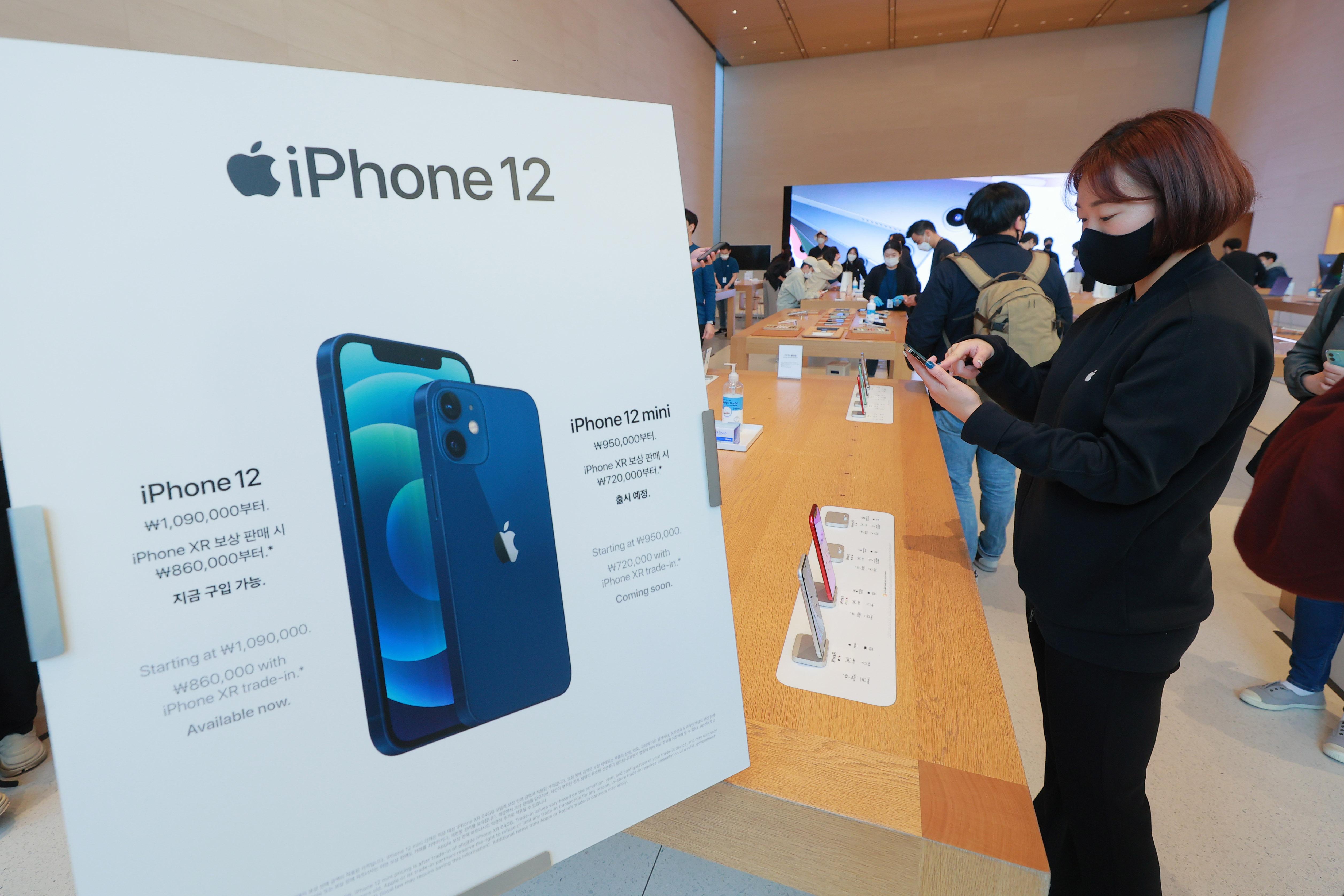 애플 첫 5G '아이폰12' 국내 정식 출시