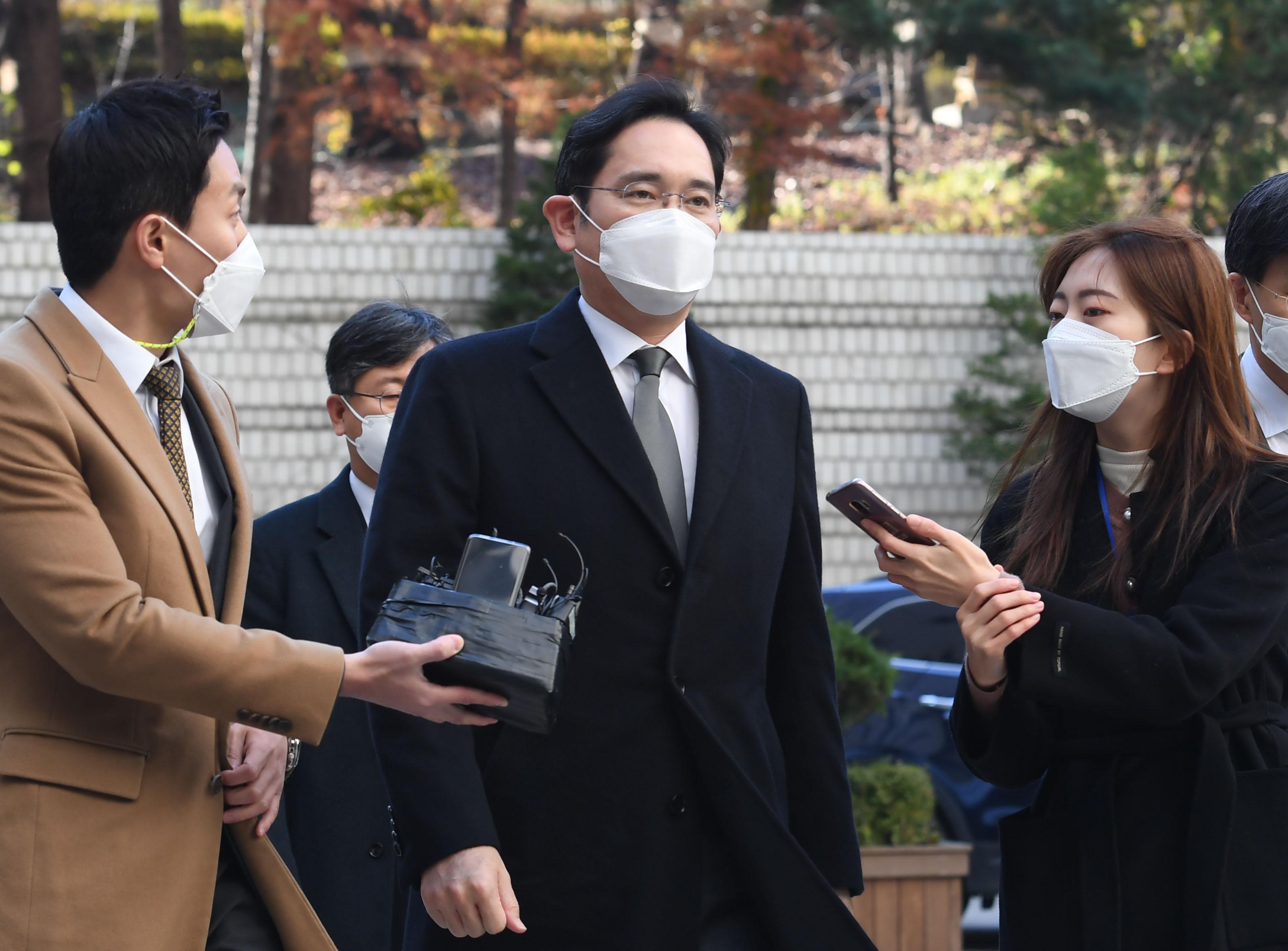 '국정농단' 이재용, 2주만에 파기환송심 재판 또 출석