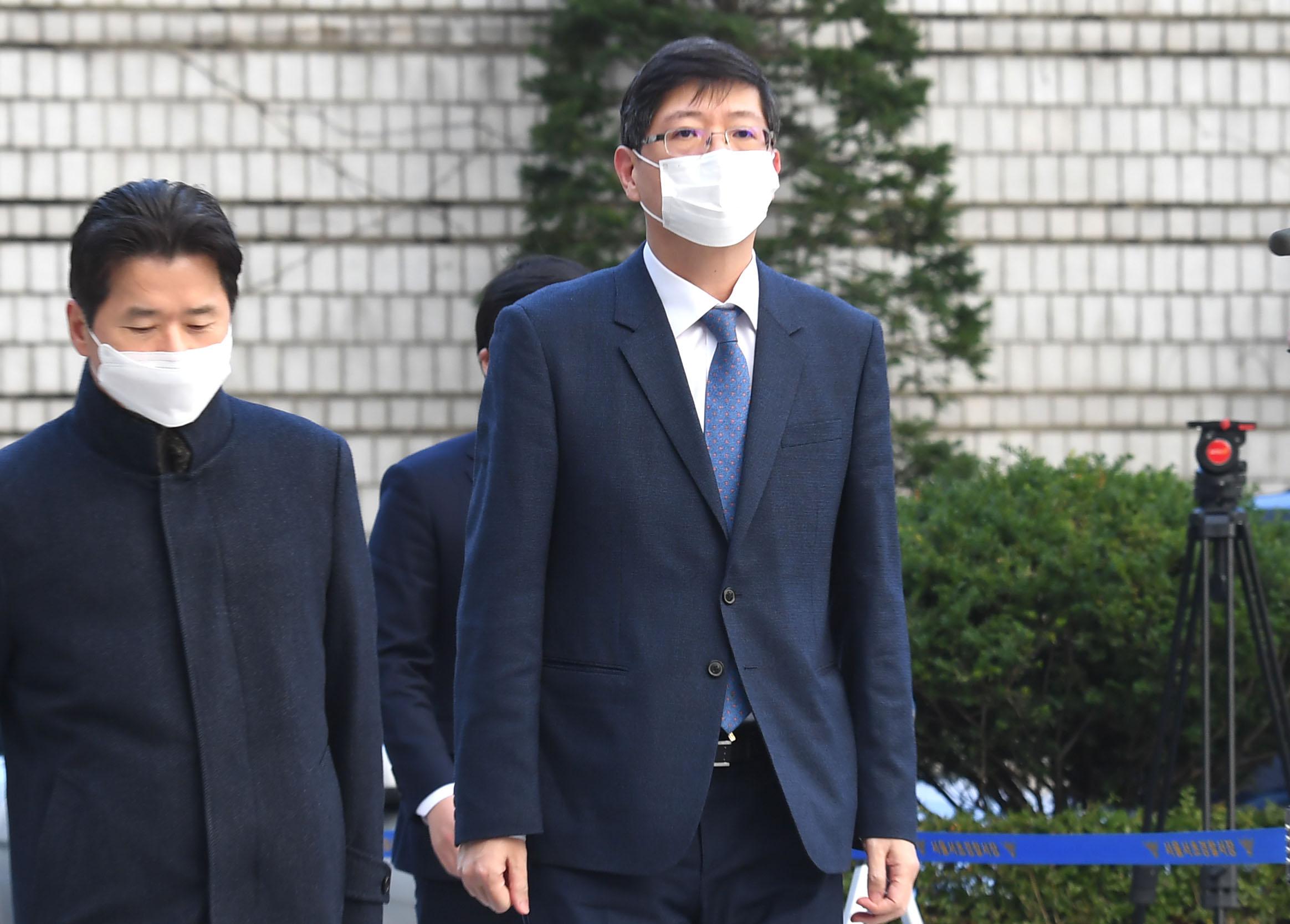 '재산 축소' 혐의 김홍걸 의원, 공직선거법 위반 첫 공판
