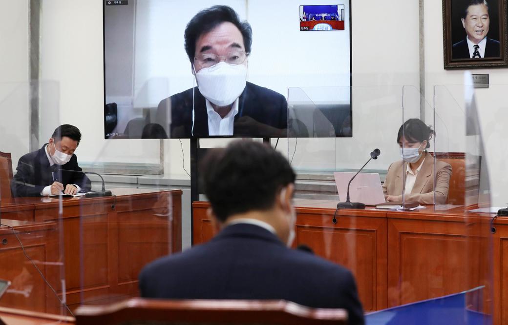 """민주당 이낙연 """"'윤석열 총장' 혐의 충격…국회 국정조사 검토"""""""