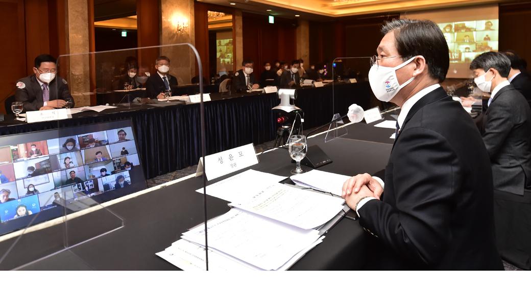 """성윤모 """"통상환경 변화, 움츠리기보단 개방·협력 통해 적극 대응"""""""