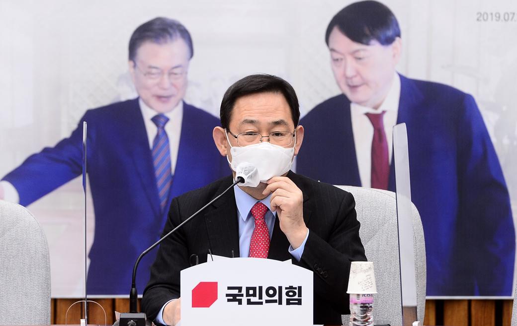 """주호영 """"사냥 끝나니 윤 총장 팽하려는… 국민 용납치 않을 것"""""""