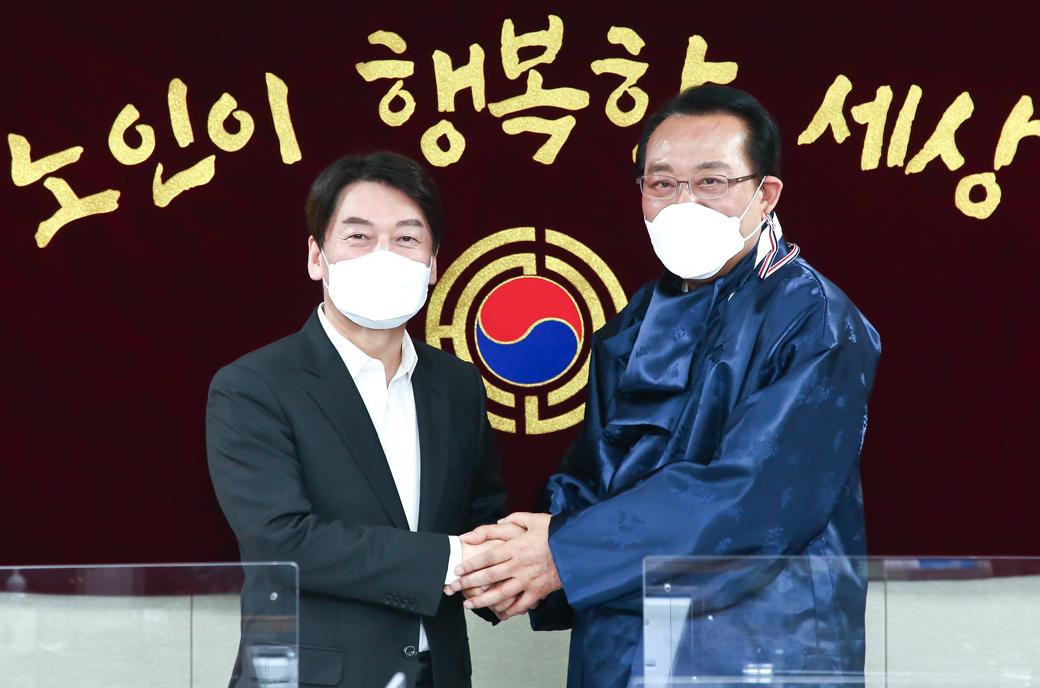 4.7 재보궐, 안철수 대표 대한노인회 찾은 이유
