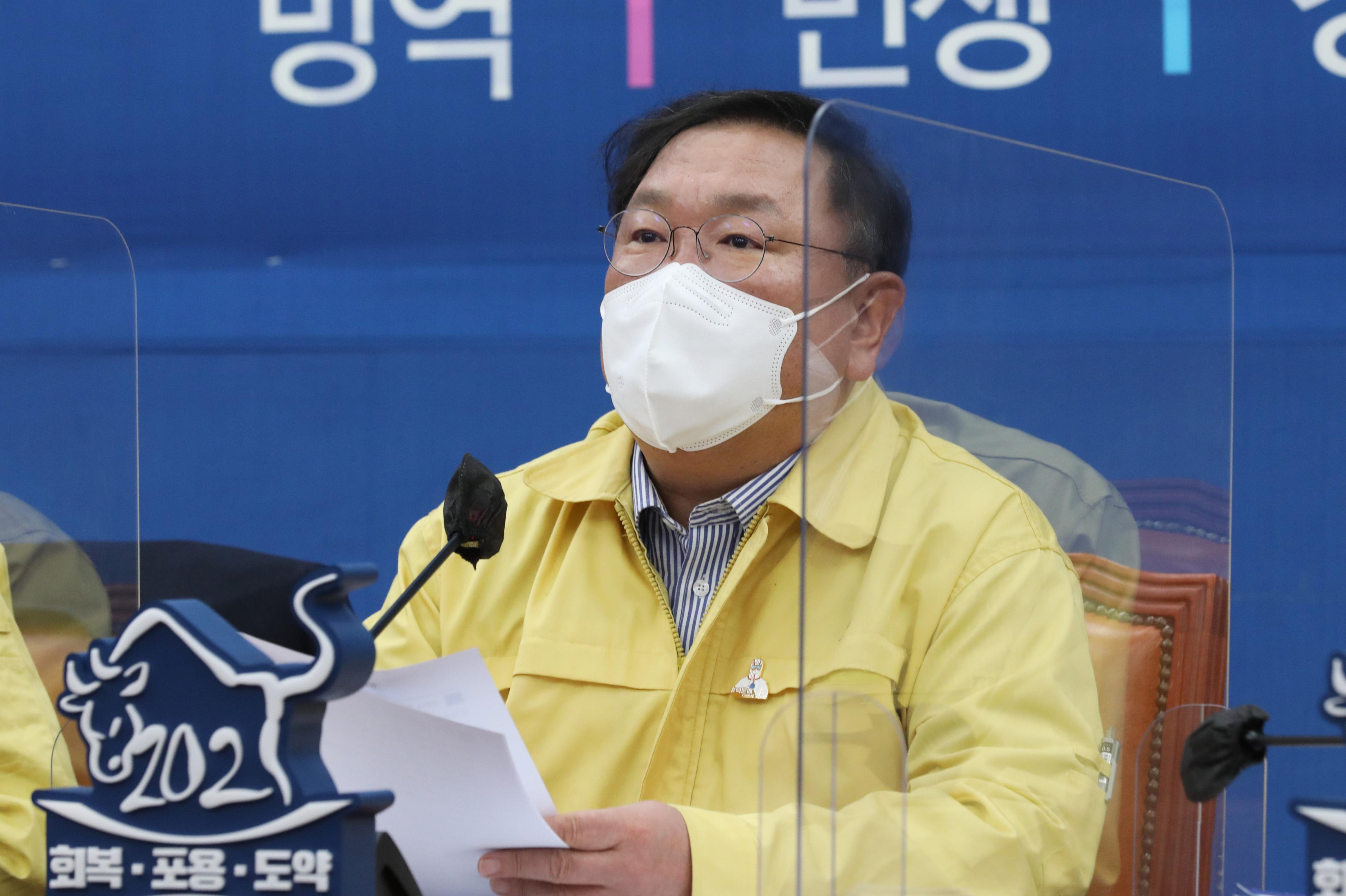 """김태년 """"야당, 백신의 정치화는 국민안전에 도움안돼"""""""