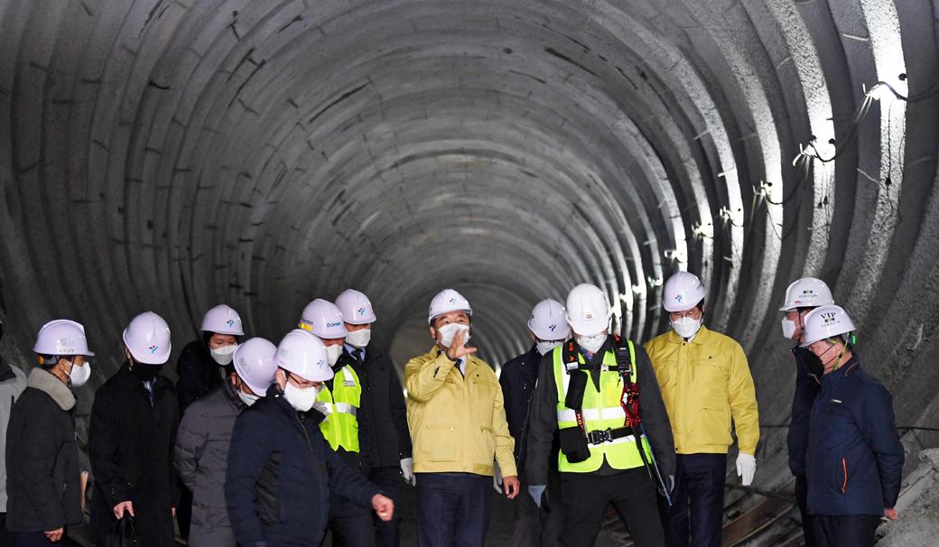 서울시, 반포천 유역 분리터널 건설공사 안전점검