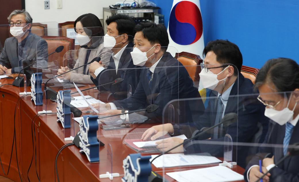 """김영진 직무대행 """"반성·성찰해 유능한 집권여당으로 혁신할 것"""""""