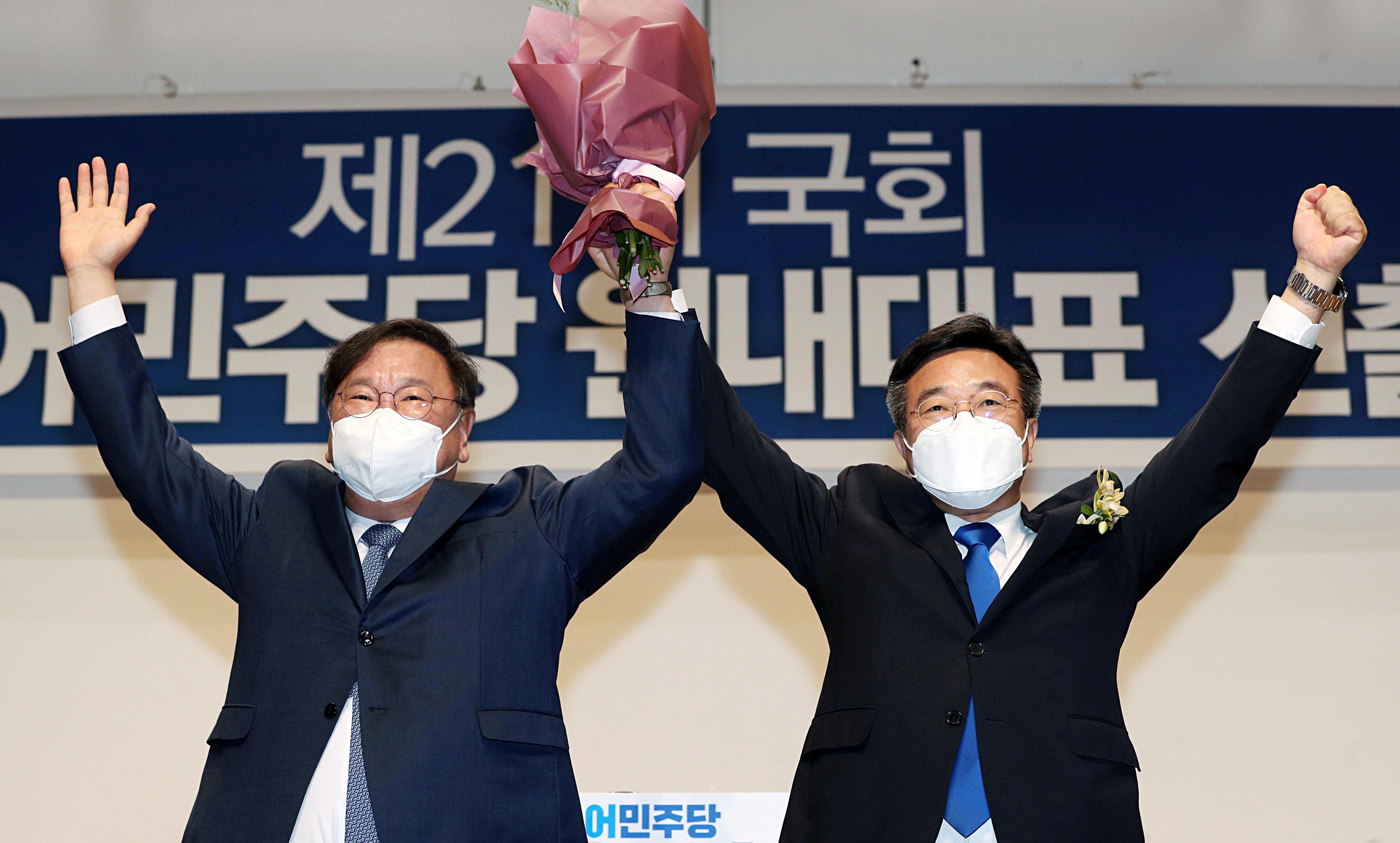 """민주당 새 원내사령탑 윤호중 """"유능한 개혁 정당으로"""""""