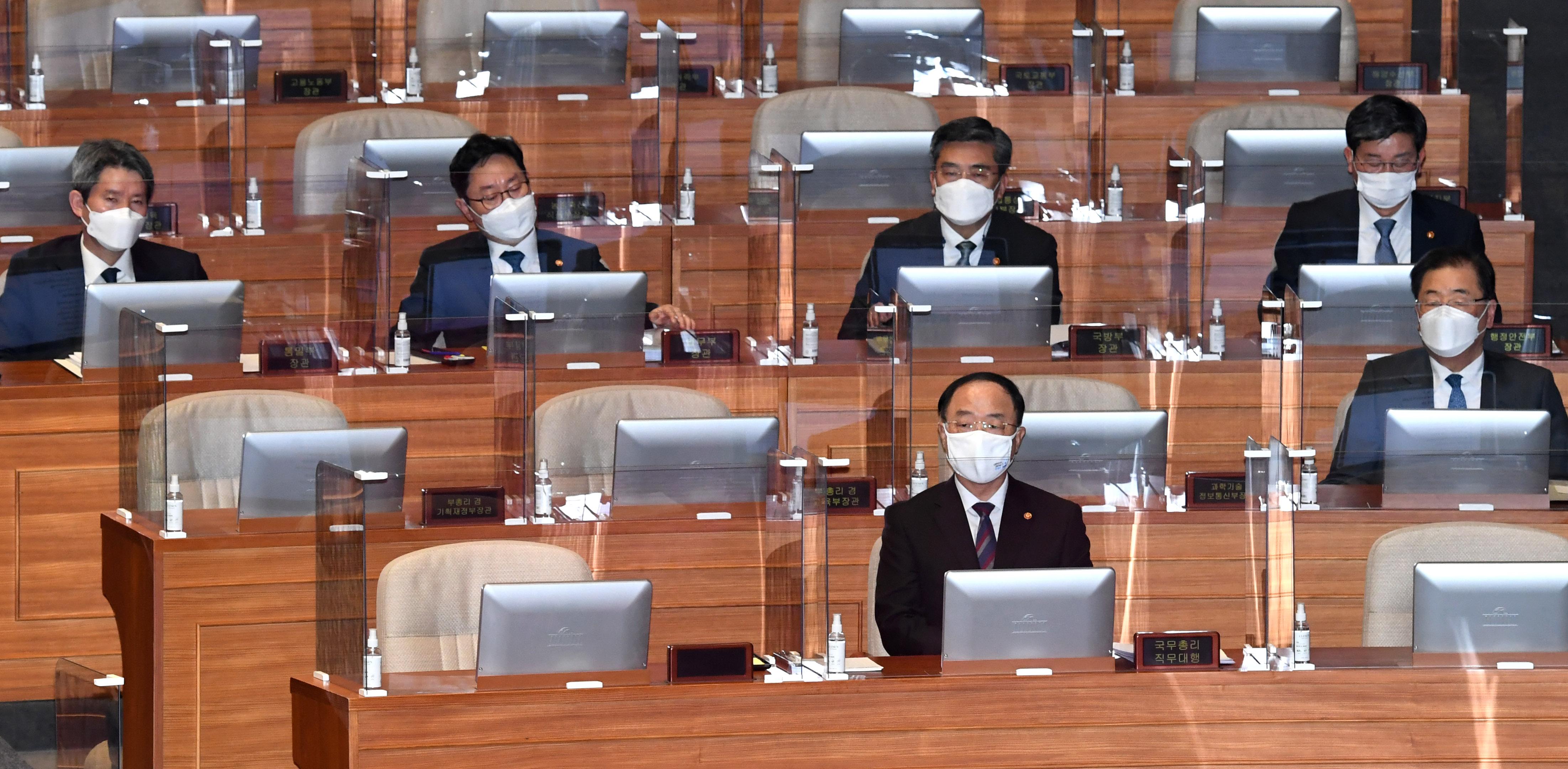 오늘부터 사흘간 대정부질문…'부동산·백신 등 쟁점'