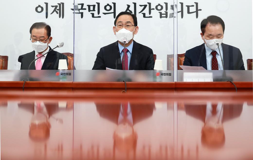 """주호영 """"조속히 양질 백신 구해 코로나 지옥 탈출하게 해달라"""""""