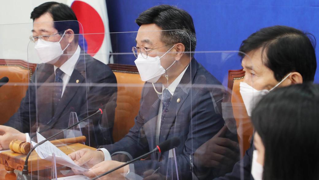 """민주당 비대위 """"윤호중 """"공직자 이해충돌 예방 길 열려..."""""""