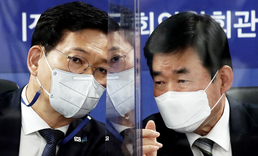 """송영길 """"청년·신혼부부, 집값 6% 있으면 집갖는 금융구조 완성"""""""